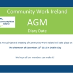 CWI Newsletter, Community Work News, Autumn 2016