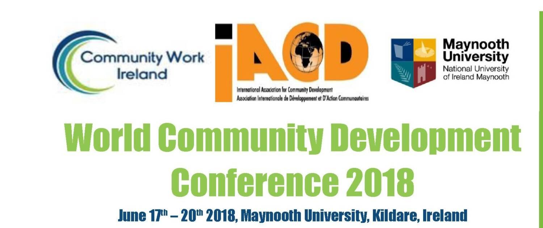 World Community Development Conference 2018